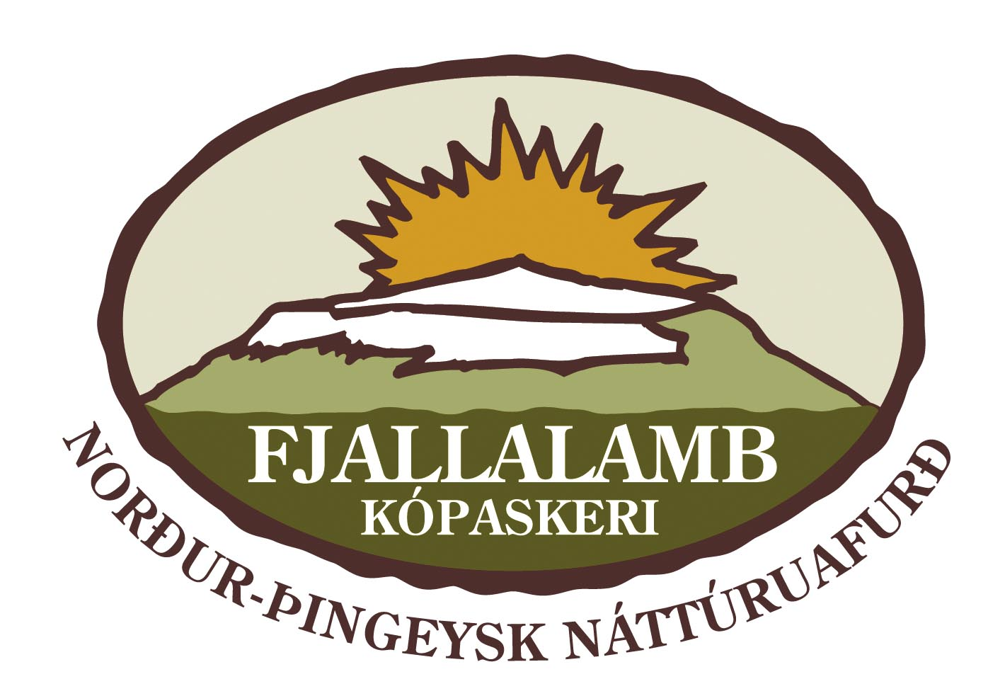Fjallalamb logo